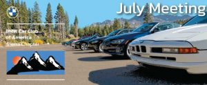 2021 July Sierra Chapter Meeting @ Bill Pearce BMW | Reno | Nevada | United States