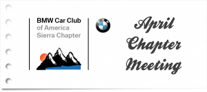 2019 April Sierra Chapter Meeting @ Bill Pearce BMW | Reno | Nevada | United States