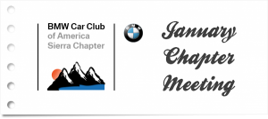 2017 January Sierra Chapter Meeting - CANCELLED @ Bill Pearce BMW | Reno | Nevada | United States